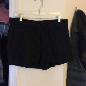 Jcrew black shorts NWT SZ 10